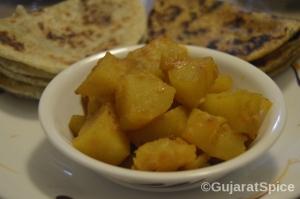 Bateta Nu Shak (Potato Curry)