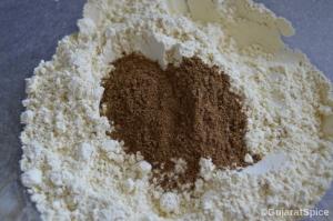 Garam masala powder added